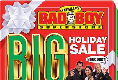 Lastman's Bad Boy Superstore Flyer November 12 to 25