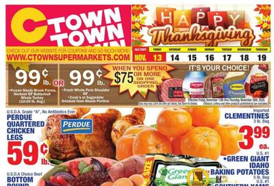 C-Town Weekly Ad Flyer November 13 to November 19