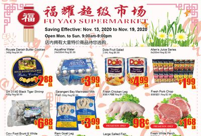 Fu Yao Supermarket Flyer November 13 to 19