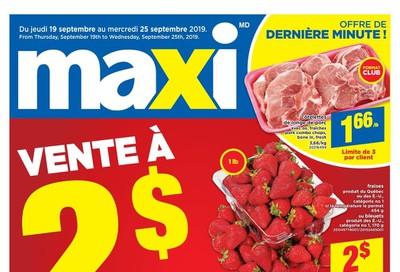 Maxi Flyer September 19 to 25