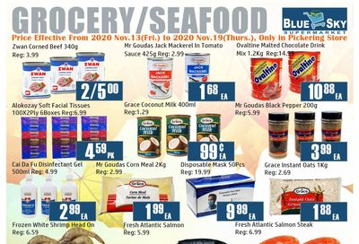 Blue Sky Supermarket (Pickering) Flyer November 13 to 19