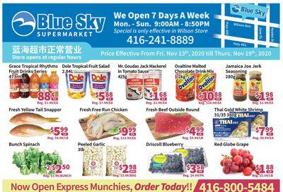 Blue Sky Supermarket (North York) Flyer November 13 to 19