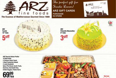 Arz Fine Foods Flyer November 13 to 19