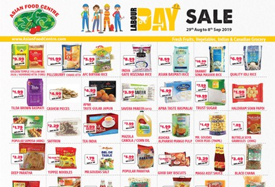 Asian Food Centre Flyer August 29 to September 8
