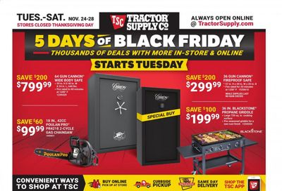 Tractor Supply Co. Weekly Ad Flyer November 24 to November 28