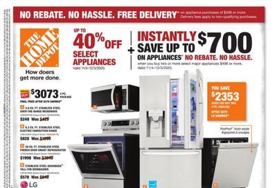 The Home Depot Weekly Ad Flyer November 15 to November 18