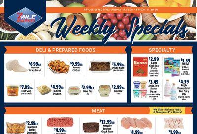 7 Mile Market Weekly Ad Flyer November 15 to November 20, 2020