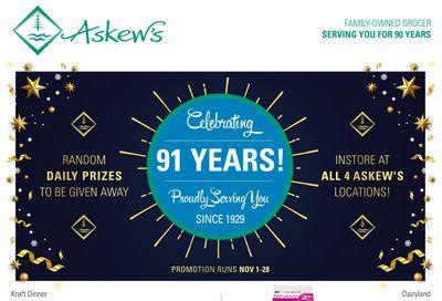 Askews Foods Flyer November 15 to 21