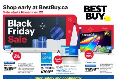 Best Buy (ON) Black Friday Flyer November 22 to December 3, 2020