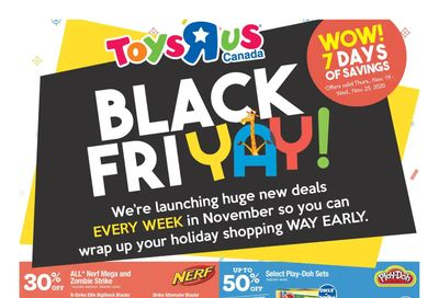 Toys R Us Flyer November 19 to 25