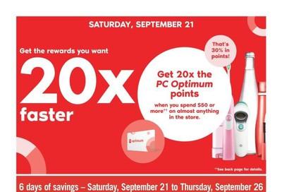 Shoppers Drug Mart (ON) Flyer September 21 to 26