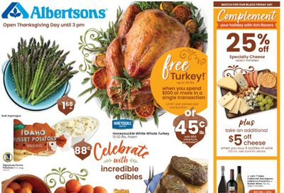 Albertsons Weekly Ad Flyer (11/18/20 – 11/26/20) & Albertsons Ad Preview