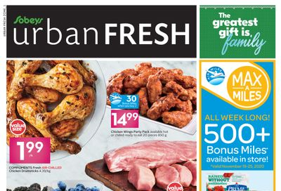 Sobeys Urban Fresh Flyer November 19 to 25