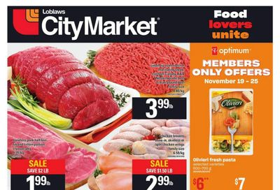 Loblaws City Market (West) Flyer November 19 to 25