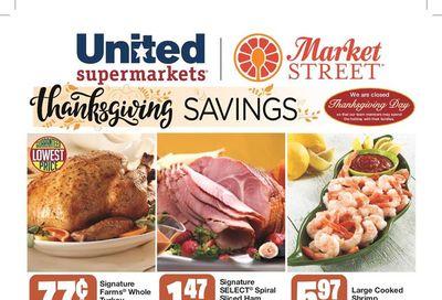 United Supermarkets Thanksgiving Weekly Ad Flyer November 18 to November 25, 2020