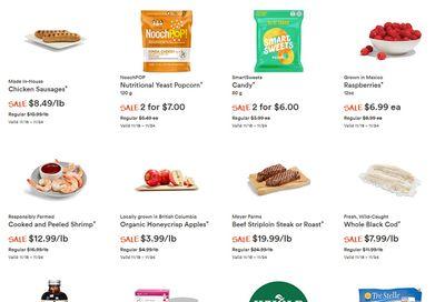 Whole Foods Market (West) Flyer November 18 to 24