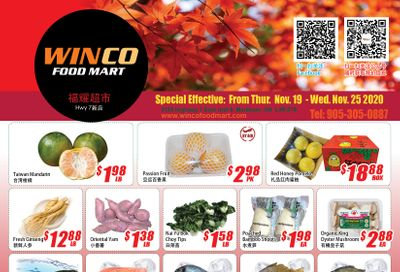 WinCo Food Mart (HWY 7) Flyer November 19 to 25