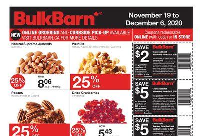Bulk Barn Flyer November 19 to December 6