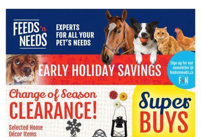 ShurGain Feeds'n Needs Flyer November 12 to 21