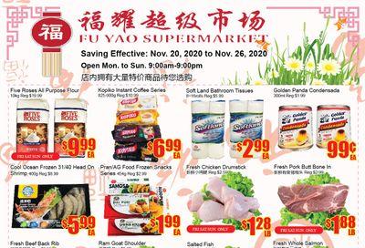 Fu Yao Supermarket Flyer November 20 to 26