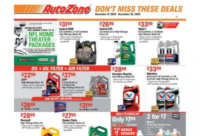 Autozone Weekly Ad Flyer November 17 to December 28
