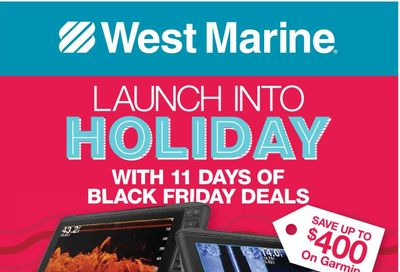 West Marine Weekly Ad Flyer November 20 to November 30