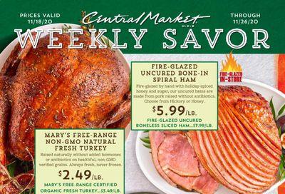 Central Market (TX) Weekly Ad Flyer November 18 to November 26