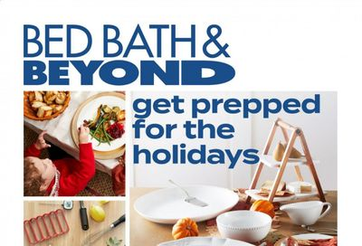 Bed Bath & Beyond Weekly Ad Flyer November 16 to November 25