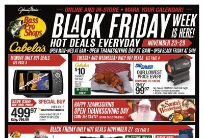 Bass Pro Shops Weekly Ad Flyer November 23 to November 29