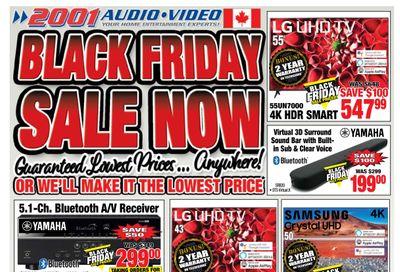 2001 Audio Video Flyer November 20 to 26