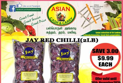 Asian Cash & Carry Flyer November 20 to 26