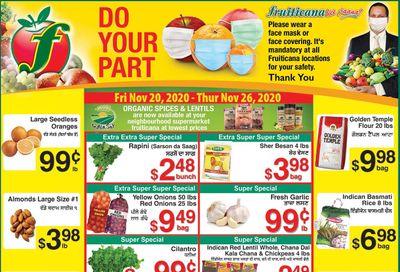 Fruiticana (Calgary) Flyer November 20 to 26