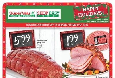 Shop Easy & SuperValu Flyer December 20 to 26