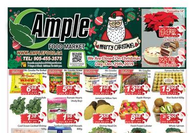 Ample Food Market Flyer December 20 to 26