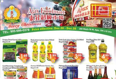 Ajax Foodmart Flyer December 20 to 26