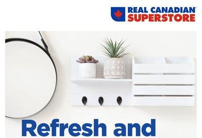 Real Canadian Superstore Home Decor Book August 30 to September 19
