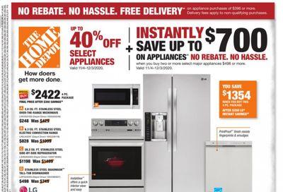 The Home Depot Weekly Ad Flyer November 16 to November 25