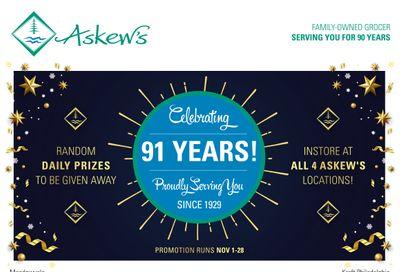 Askews Foods Flyer November 22 to 28