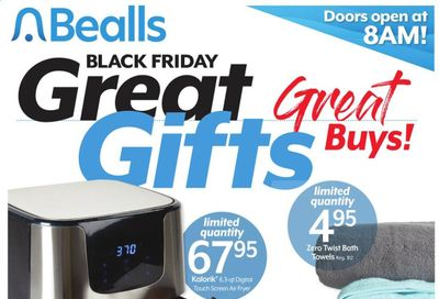 Bealls Florida Weekly Ad Flyer November 22 to November 28