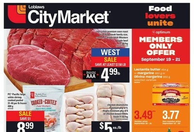 Loblaws City Market (West) Flyer September 19 to 25