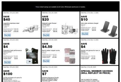 Costco (QC) Weekly Savings November 23 to 29