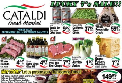 Cataldi Fresh Market Flyer September 18 to 24