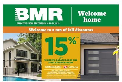 BMR Flyer September 18 to 24