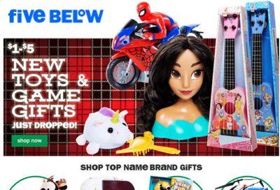 Five Below Weekly Ad Flyer November 24 to December 1
