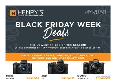 Henry's Black Friday Flyer November 27 to December 3, 2020