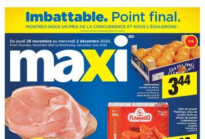 Maxi & Cie Flyer November 26 to December 2