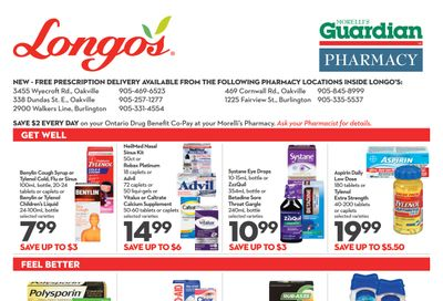 Longo's Pharmacy Flyer November 26  to December 31