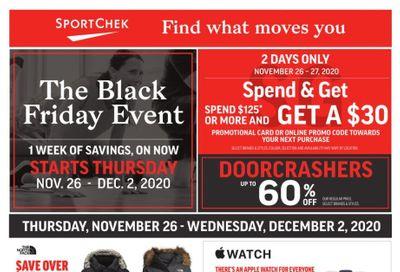 Sport Check Black Friday Flyer November 26 to December 2, 2020