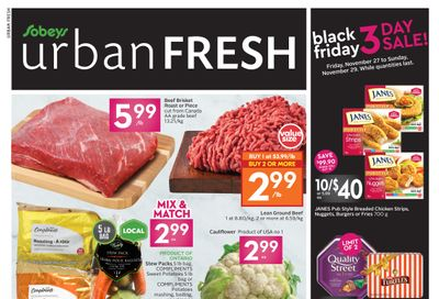 Sobeys Urban Fresh Flyer November 26  to December 2