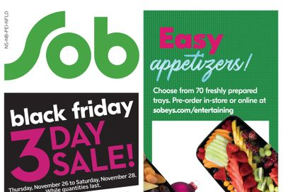 Sobeys (Atlantic) Flyer November 26  to December 2